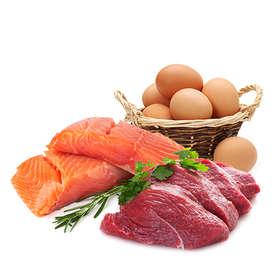 Mėsa, žuvys ir kiaušiniai (70 akcijų!)